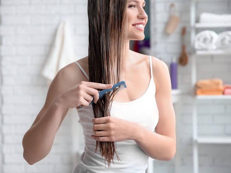 Saçların Doğal Hacmi İçin Saç Bakım Kremi