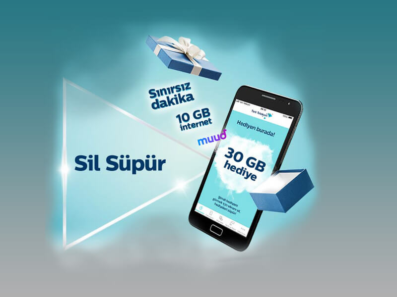 Türk Telekom Sil Süpür Bedava İnternet